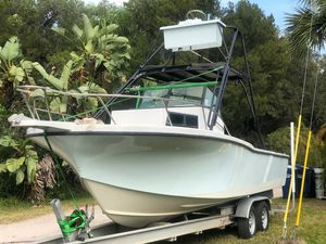 Used Dusky 256 FWC Saltwater Fishing Boat For Sale