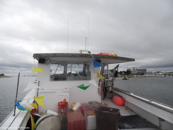 Used Nauset 42 Lobster Fishing Boat For Sale