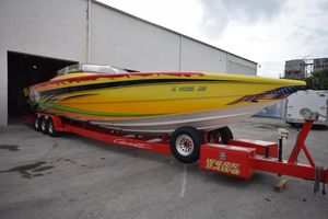Used Cigarette 39' Top Gun Unlimited39' Top Gun Unlimited High Performance Boat For Sale