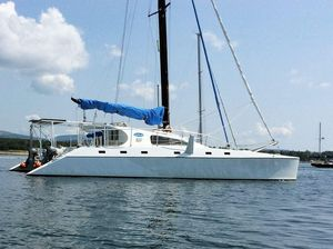 Used Crowther Custom 46 Catamaran Sailboat For Sale