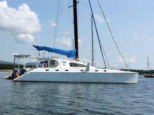 Used Crowther Custom 46 Catamaran Sailboat For Sale