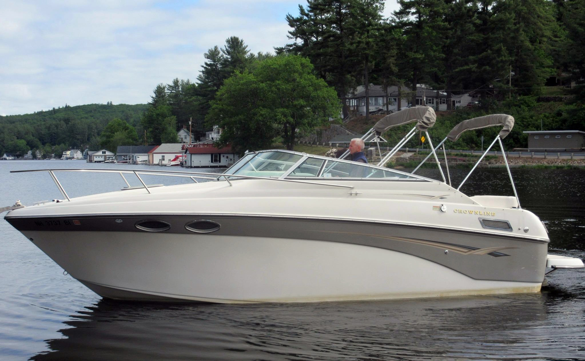 Used 2003 Crownline 242 CR 11609 Cuddy Cabin Boat For Sale