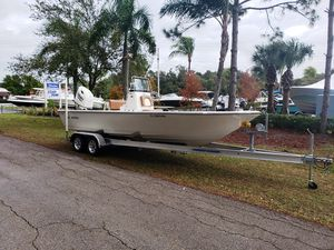 Used Sea Born 22FX22FX Bay Boat For Sale