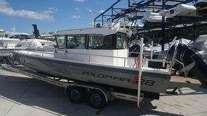 Used Axopar 28 C28 C Center Console Fishing Boat For Sale