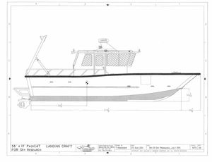 Used Munson 36x13 Packcat Power Catamaran Boat For Sale