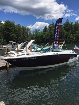 Used Monterey 278ss Super Sport Bowrider Boat For Sale