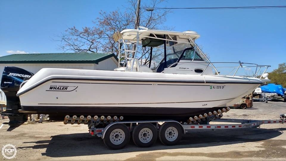 Used Boston Whaler 28 Walkaround Fishing Boat For Sale
