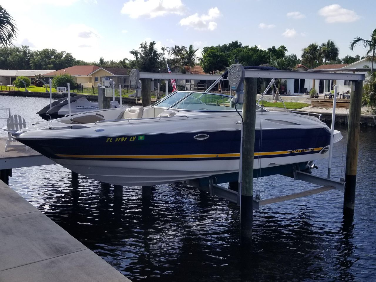 2002 Used Monterey 268 SS Open Bow Sport Bowrider Boat For Sale