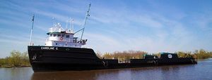 Used American Marine Offshore Supply Vessel Barge Boat For Sale