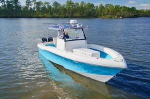Used Typhoon 33 Canyon Runner 2013 Engines Center Console Fishing Boat For Sale