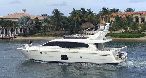 Used Ferretti Yachts 630 Motor Yacht For Sale