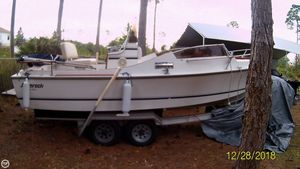 Used Shamrock Conwalk 21 Walkaround Fishing Boat For Sale