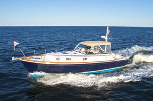 Used Grand Banks East Bay Downeast Fishing Boat For Sale
