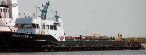 Used Halter Offshore Supply Vessel Barge Boat For Sale