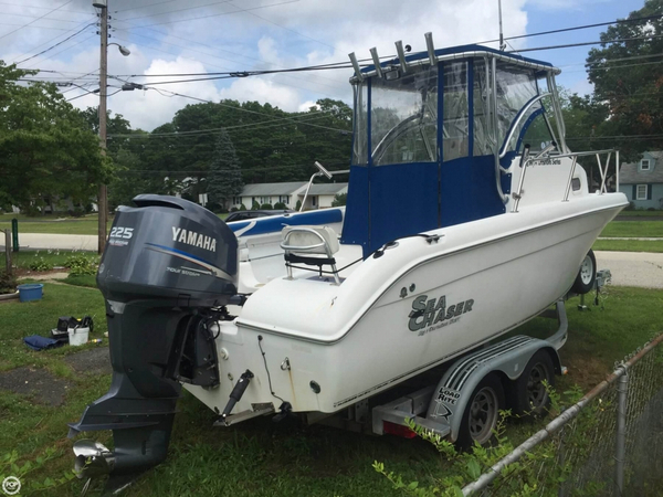 Used Sea Chaser 2100 Offshore WA Walkaround Fishing Boat For Sale