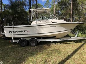Used Trophy 2302 WA Walkaround Fishing Boat For Sale