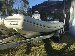 Used Apex Inflatable A 18 Rigid Sports Inflatable Boat For Sale
