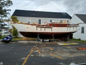 Used Bruce Roberts Spray 42 Ketch Sailboat For Sale