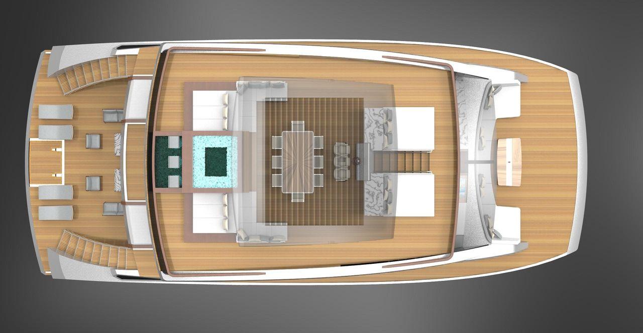 2020 New Lazzara Corona 85 Power Catamaran Boat For Sale