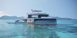 New Lazzara Corona 80 Power Catamaran Boat For Sale