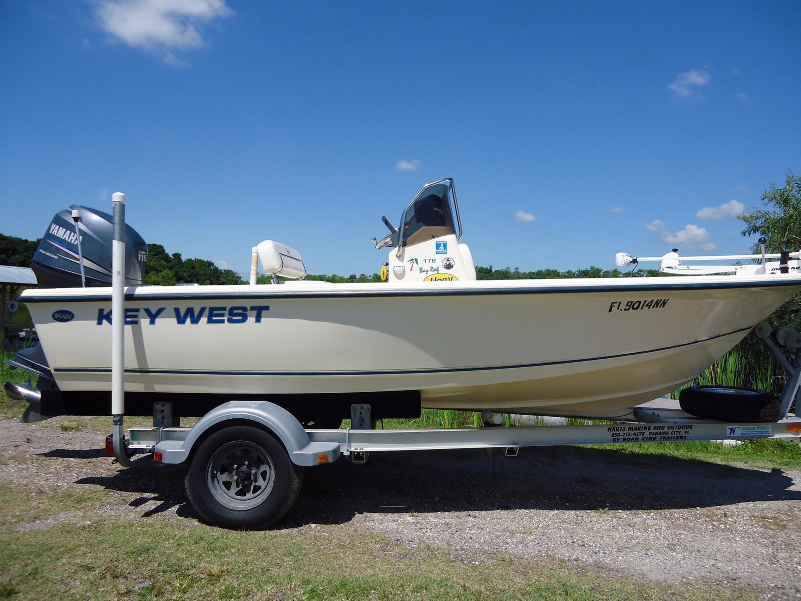 Used Key West 17 Bay Reef Bay Boat For Sale