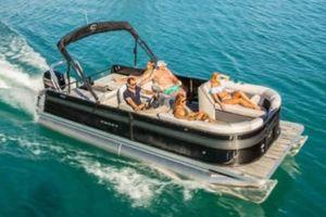 New Crest II 220 Pontoon Boat For Sale