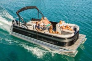 New Crest II 220 Pontoon Boat For Sale