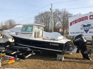 New Steiger Craft 23 Deep V Miami Pilothouse Boat For Sale