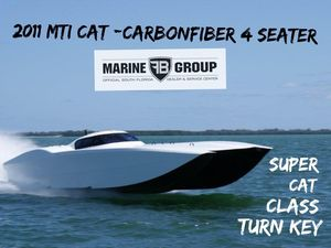 Used Mti Race Boat High Performance Boat For Sale