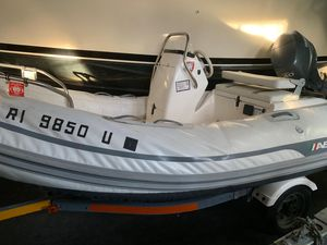 Used Ab Inflatables 12vst Tender Boat For Sale