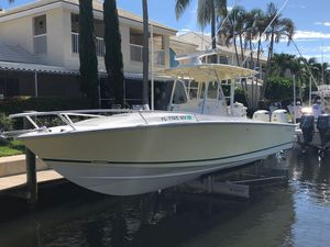 Used Jupiter 31 Cuddy Center Console Fishing Boat For Sale