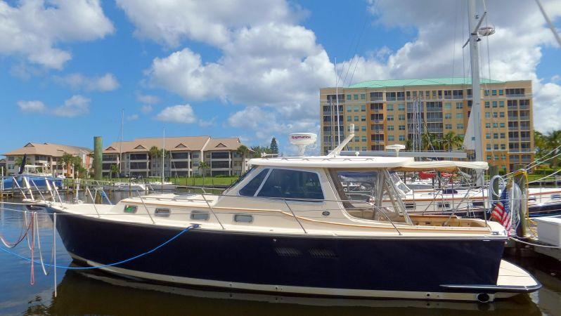Used Island Packet Yachts 6bta Cruiser Boat For Sale