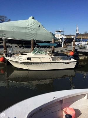 Used Parker Marine 21 Walk-Around Walkaround Fishing Boat For Sale