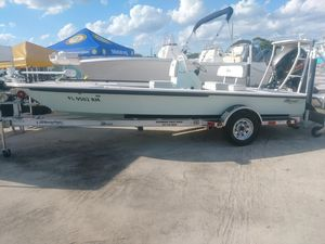 Used Maverick Mirage 18 HPX-VMirage 18 HPX-V Flats Fishing Boat For Sale