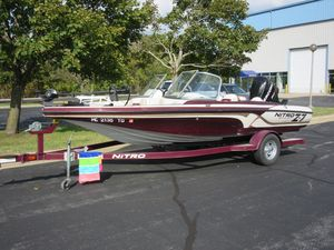 Used Nitro Z-7 Sport Freshwater Fishing Boat For Sale