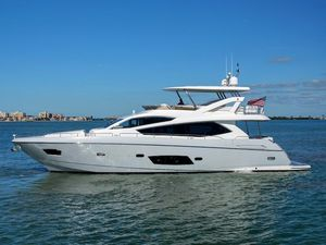 Used Sunseeker Manhattan 73 Motor Yacht For Sale