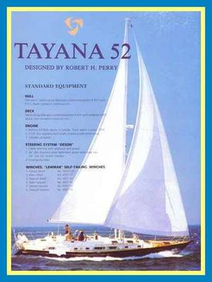 New Tayana Center Cockpit Cutter Racer and Cruiser Sailboat For Sale