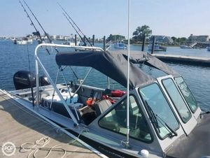 Used Smoker Craft Phantom 202 OS Aluminum Fishing Boat For Sale