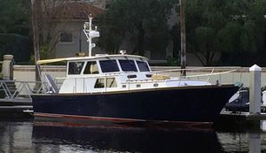 Used Hunt Yachts / Falmouth Marine 44 Cruiser Boat For Sale