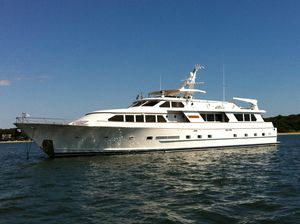 Used Denison RPH Repowered With Cat C32's Pilothouse Boat For Sale