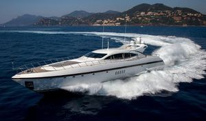 Used Mangusta 108 Express Cruiser Boat For Sale