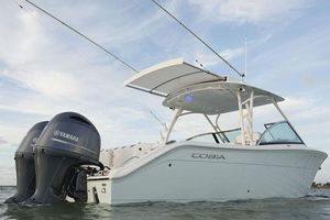 New Cobia 280 Dual Console Cruiser Boat For Sale