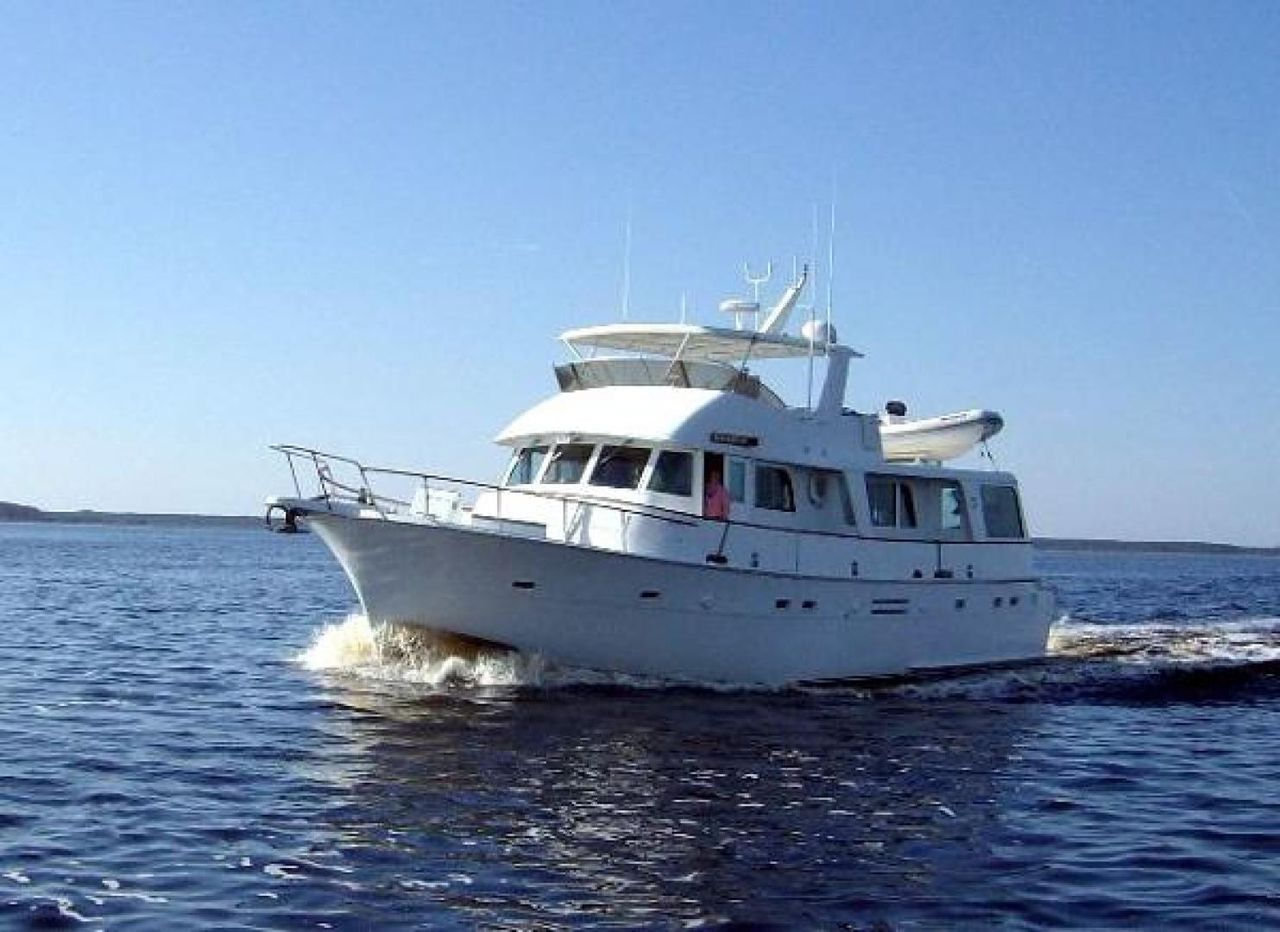 1975 Used Hatteras 58 LRC Trawler Boat For Sale - $319,900