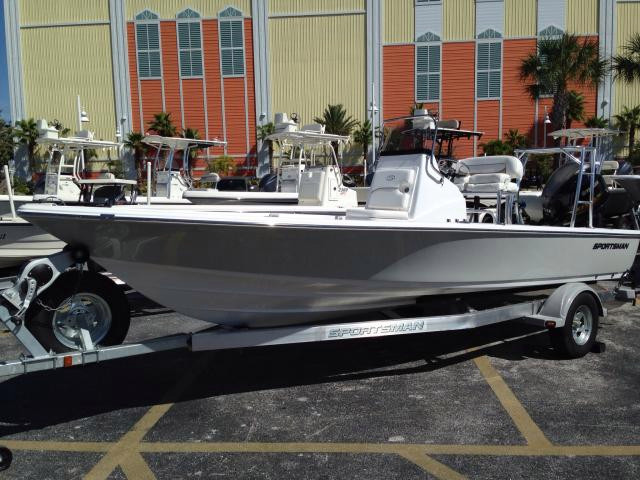 New Sportsman Boats Tournament 214 Bay Boat For Sale