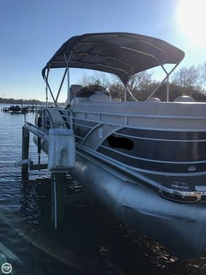 Used Aqua Patio 240 Elite Pontoon Boat For Sale