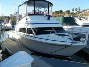 Used Bertram 30 Flybridge Cruiser Sports Fishing Boat For Sale
