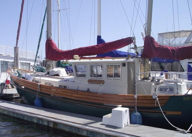 1975 Used Fisher Motorsailer Sailboat For Sale - $64,000 - Marina