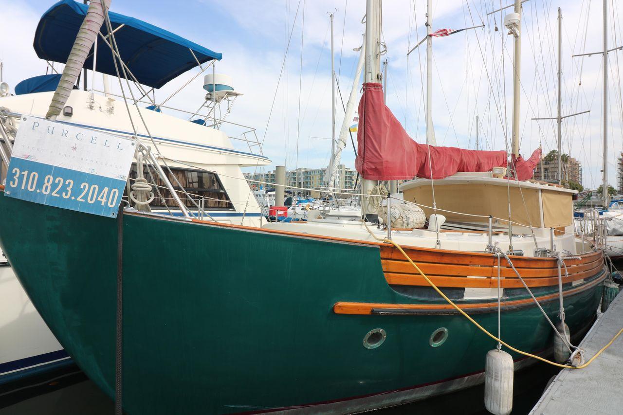 1975 Used Fisher Motorsailer Sailboat For Sale - $64,000