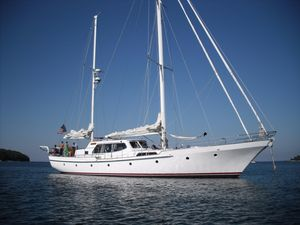 Used Export Yachts Don Brooke Pilothouse Ketch Motorsailer Sailboat For Sale