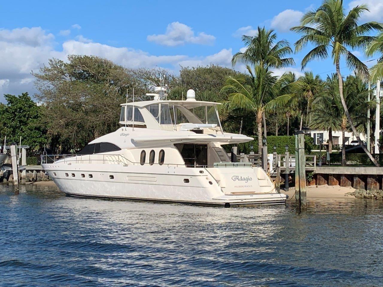 2000 Used Princess Motor Yacht For Sale 649 000 Hillsboro Beach